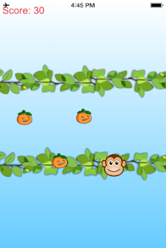 Crazy Monkey vs Jumpy Orange apk screenshot