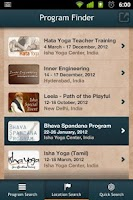 Screenshot of Isha Foundation