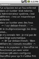 Screenshot of Citations FR