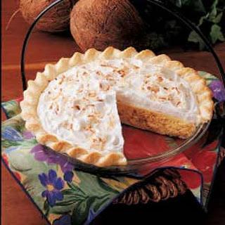 Quick Coconut Cream Pie.