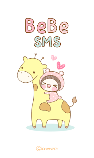 BeBe Animal SMS Theme