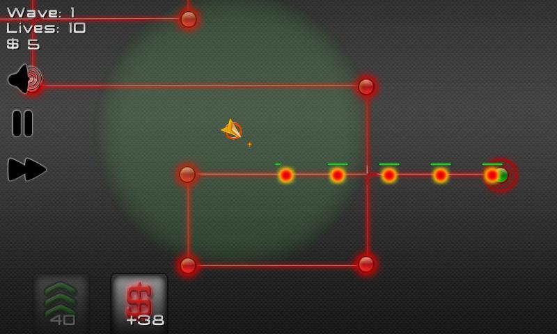 Robot Defense: Maze it!- screenshot