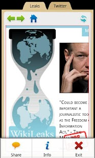 WikiLeaks - screenshot thumbnail