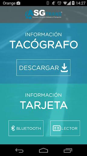 ASGtrans Descargas Tacógrafo