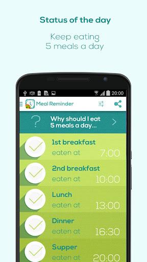 Meal Reminder - Weight Loss  screenshots 3