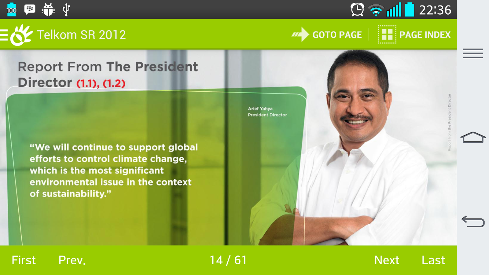 Telkom SR 2012 (English) - screenshot