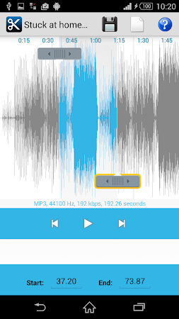 MP3 Cutter Ringtone Maker Free 5 screenshot 44670