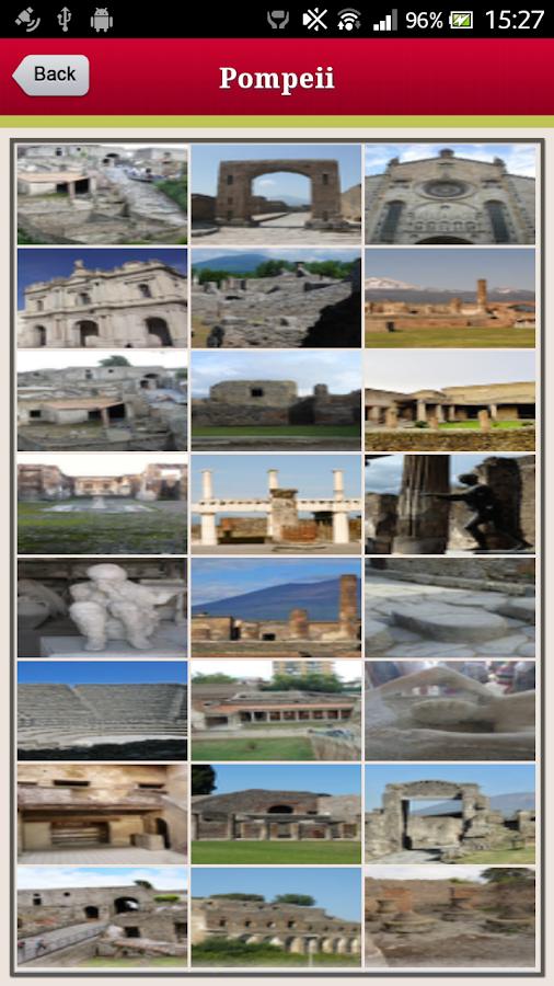 Pompeii Map Google Pompeii Offline Map Guide