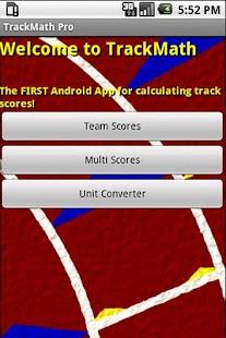 TrackMath Pro - screenshot thumbnail