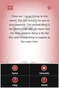 Love Quotes And Romantic SMS - screenshot thumbnail