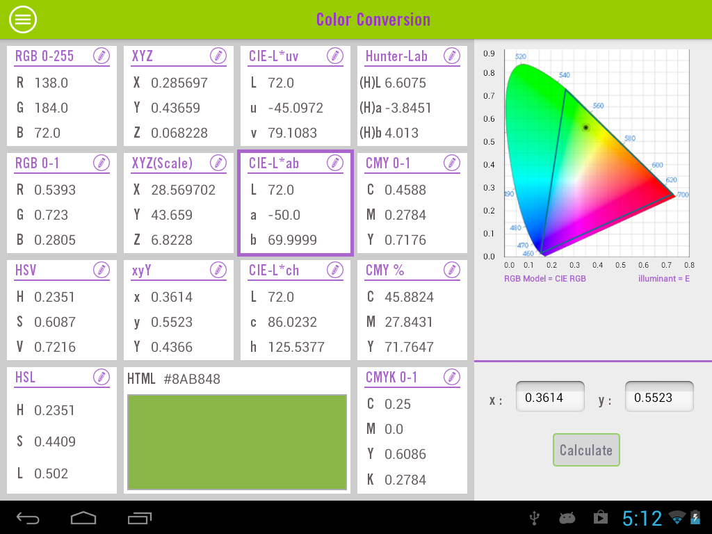 Color Calculator Android Apps On Google Play