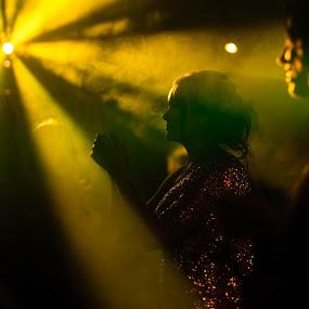 Dance by Jorge Asad - Wedding Reception ( reception, wedding, night, party, bride, light, dance )
