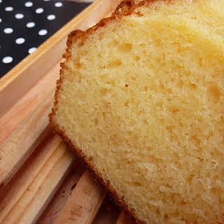 Yogurt Sponge Cake.