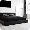 Black & White Bedroom Ideas icon