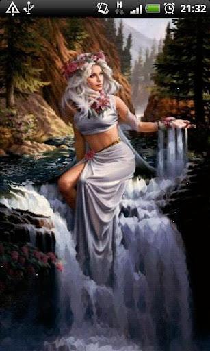 Girl in Waterfalls