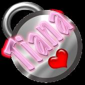 Tiana Name Tag