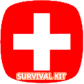 Survival Kit List For Disaster icon