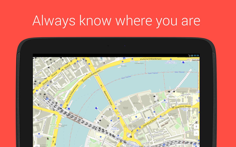 Maps With Me Pro, Offline Map - screenshot