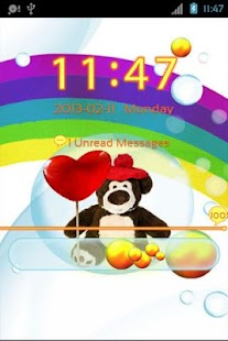 Cute Teddy Bear for GO Locker- screenshot thumbnail