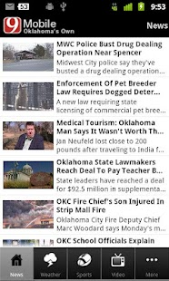 News 9 Oklahoma's Own - screenshot thumbnail