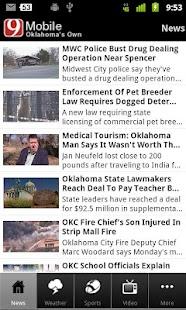 News 9 Oklahoma's Own - screenshot thumbnail