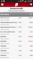 Screenshot of Sparebanken Vest Bedrift