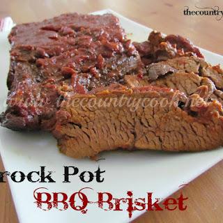 BBQ Beef Brisket {Slow Cooker}