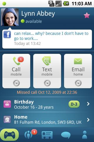 Phonebook 2.0- screenshot