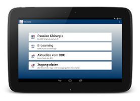 Screenshot of BDC|Mobile