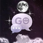 GO SMS Theme Night Moon