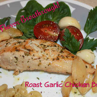 Roast Garlic Chicken Breast!