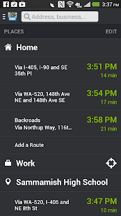 INRIX Traffic, Maps & Alerts - screenshot thumbnail