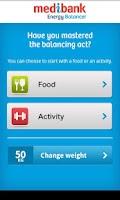 Screenshot of Medibank Energy Balancer