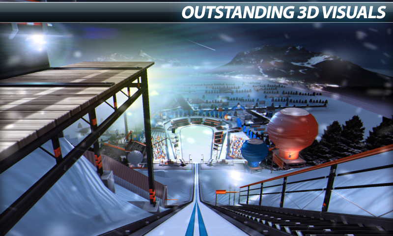 Super Ski Jump - Winter Rush- screenshot