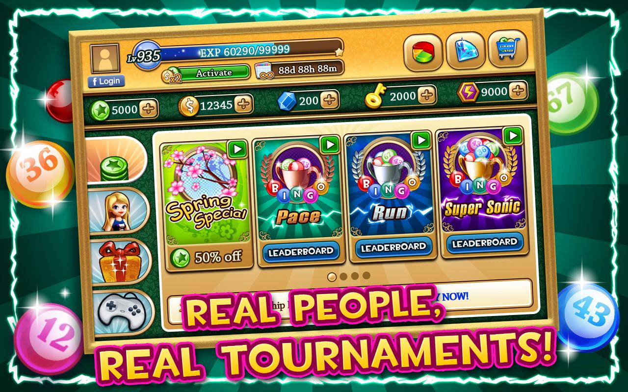 Bingo Tournament - screenshot