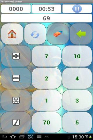 mind calculator training - screenshot