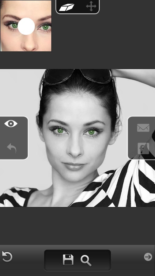 Eye Color Changer - Grid Pro- screenshot