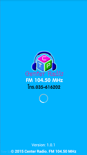 Center Radio FM 104.50 MHz
