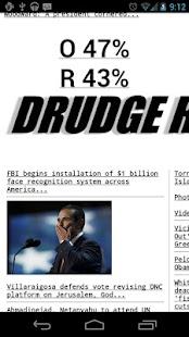 Drudge Report - screenshot thumbnail
