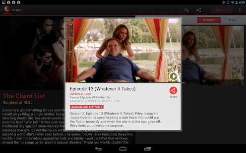 Lifetime - screenshot thumbnail