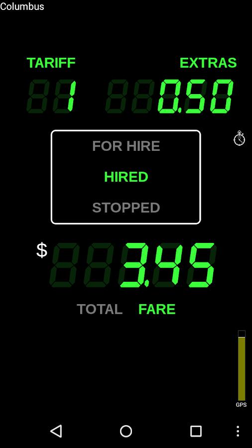 Taximeter - screenshot