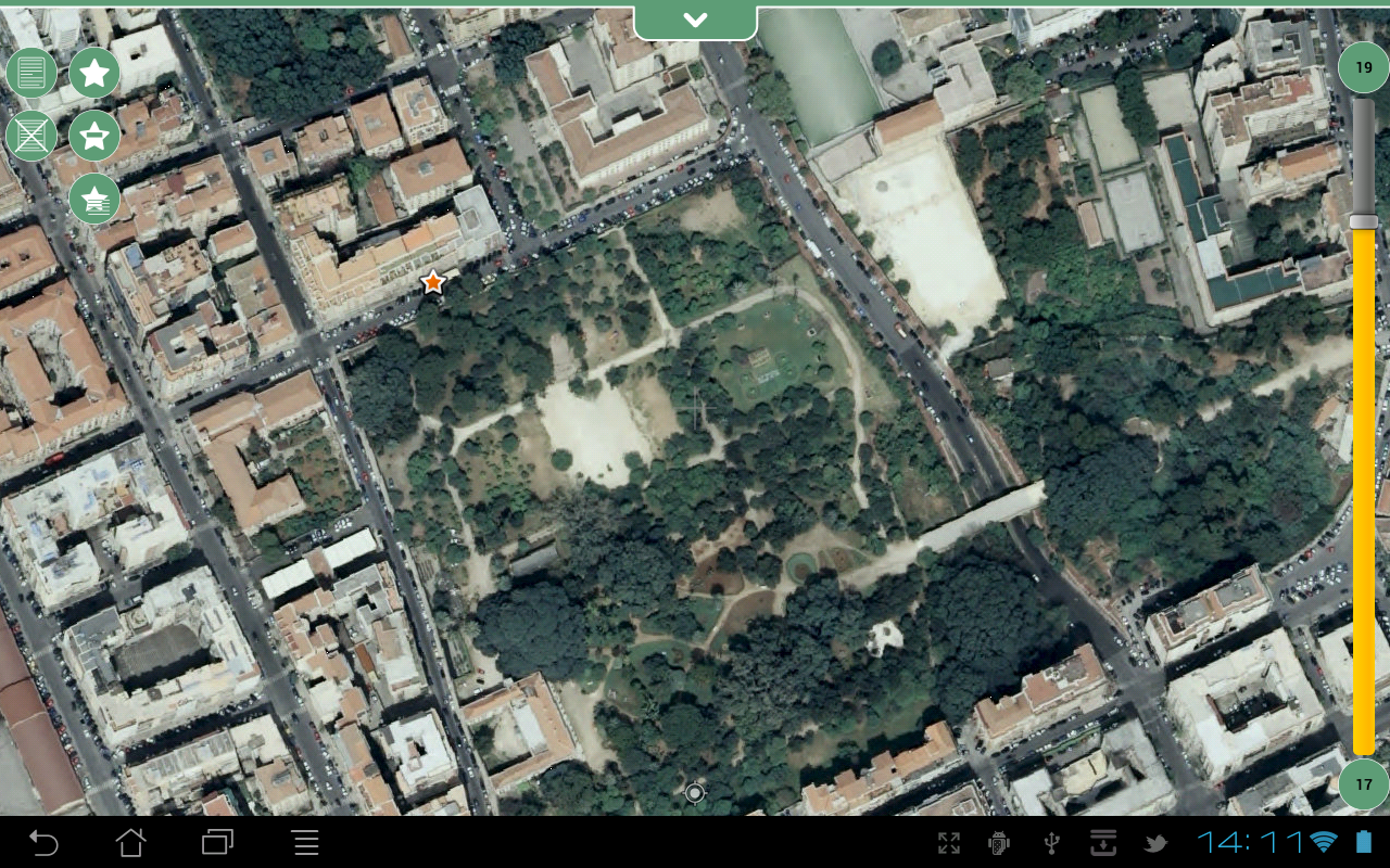 Geopaparazzi- screenshot
