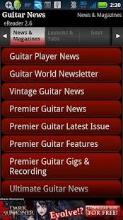 Guitar News eReader