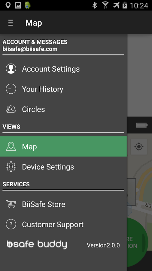 BiiSafe Buddy - screenshot