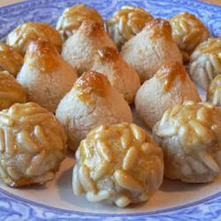 Panellets (Catalan All-Saints Cookies).