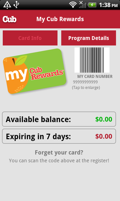 Cub Foods - screenshot