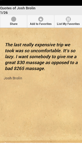 Quotes of Josh Brolin