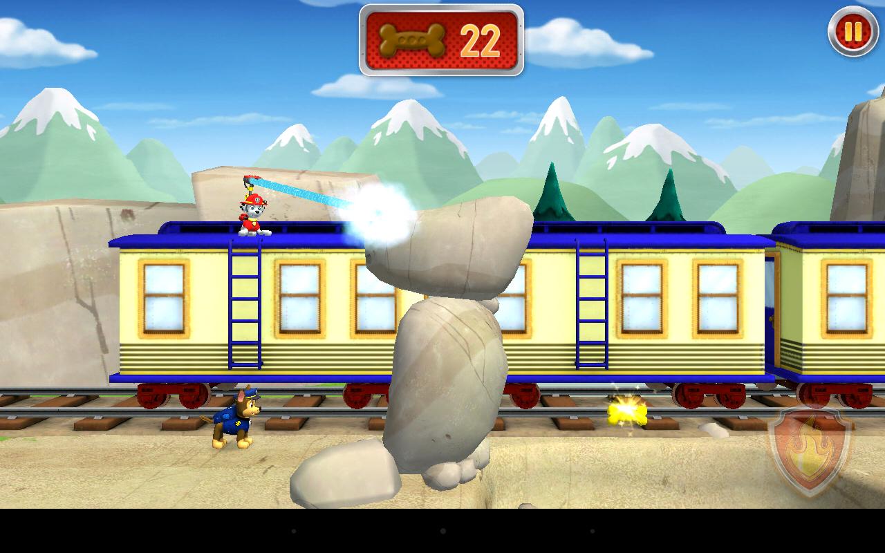Ni nick jr games and coloring on online - Paw Patrol Rescue Run Screenshot