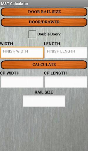 M T Panel Calculator