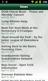 Owensboro Catholic Schools- screenshot thumbnail